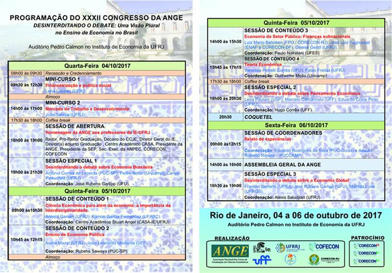 XXXII Congresso da ANGE